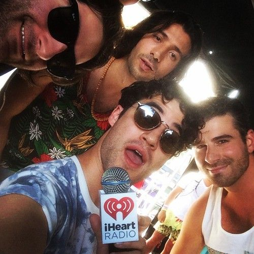 DarrenCriss: What a treat to introduce the talented @OurNameIsMagic at @iheartradio #iHeartRadio