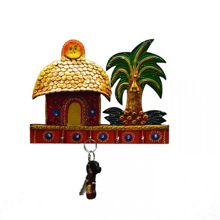 eCraftIndia Cottage Key Holder