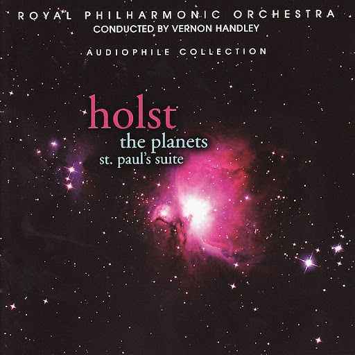 Gustav Holst: The planets; A 7 part orchestral suite about the planets and the gods they're named after.