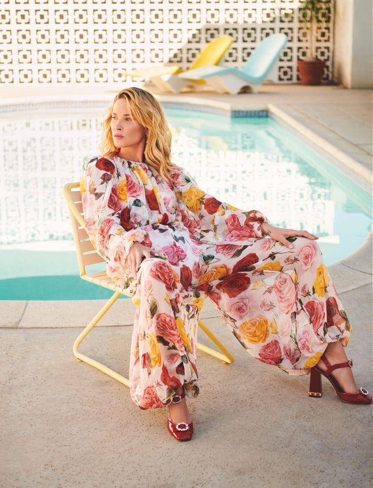 Erin Wasson | Colorful Style Editorial | Harper's Bazaar Kazakhstan Cover