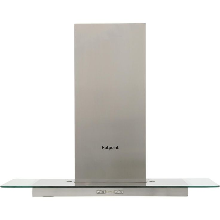 Hotpoint PHFG75FABX 70 cm Chimney Cooker Hood - Stainless Steel