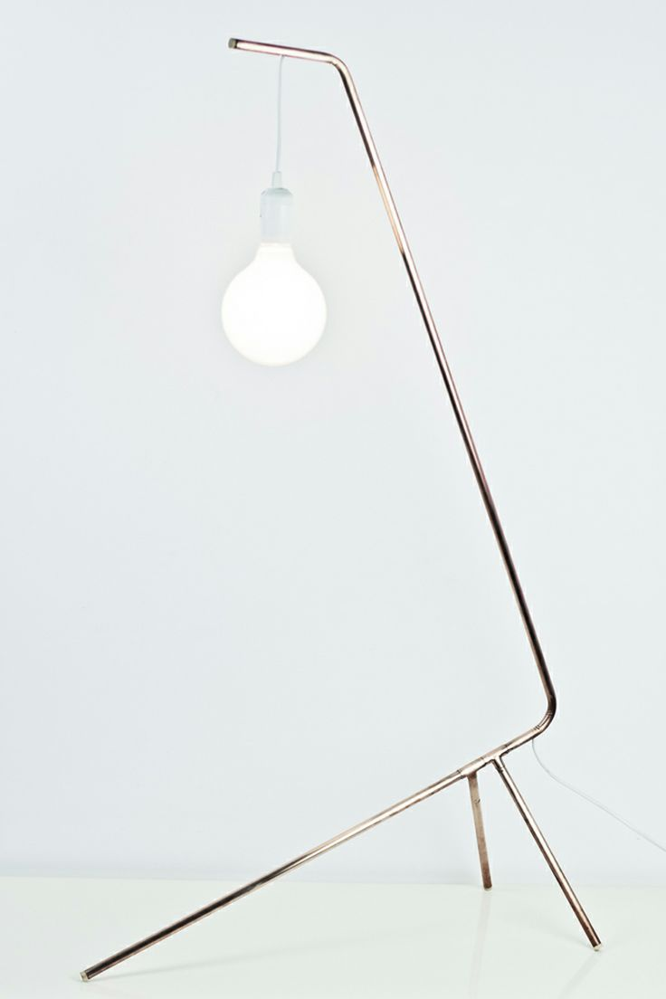 diagonal maxi floor lamp