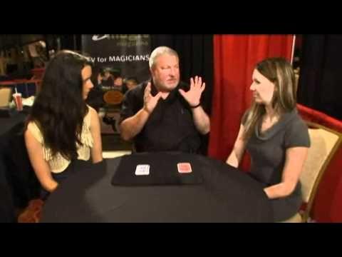 John Bannon, magician   Twisted Sisters 2.0 by John Bannon - Trick at Penguin Magic - YouTube