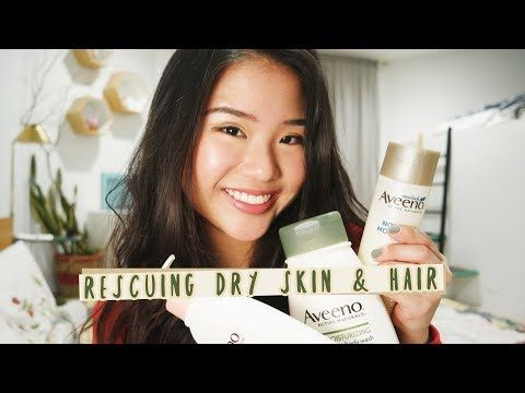 My Favourites from Aveeno | Dry Skin & Hair - YouTube