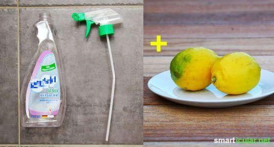 Möchtest du Kalkflecken im Bad oder der Küche entfernen? Mit diesem Trick verzichtest du auch die Chemische Keule und deine Armaturen glänzen wieder!