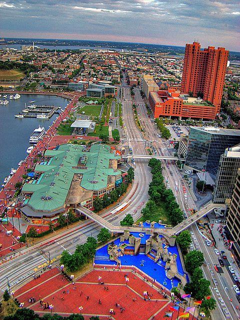 Inner Harbor, Baltimore, Maryland