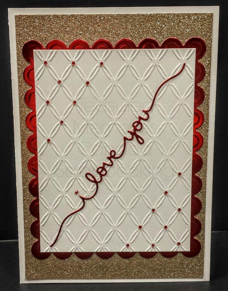 I love you  #valentine'sday #greetingcard #scrapbooking #TMC #handmade #valentine