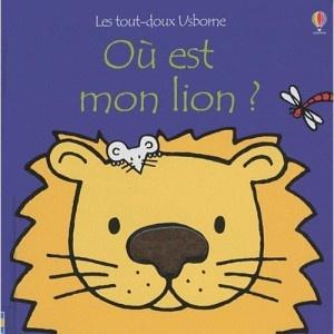 """Livre """"ou est mon lion"""" tout doux"""