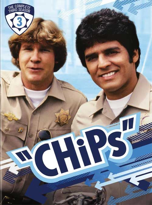 CHiPs - Warner's Official Press Release, Cover for 'The Complete 3rd Season' on DVD
