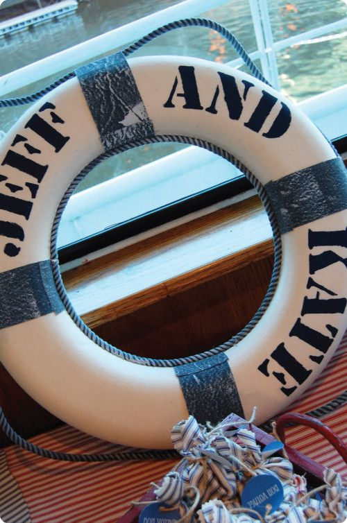 nautical themed rehearsal dinner | Come Sail Away: Nautical Rehearsal Dinner