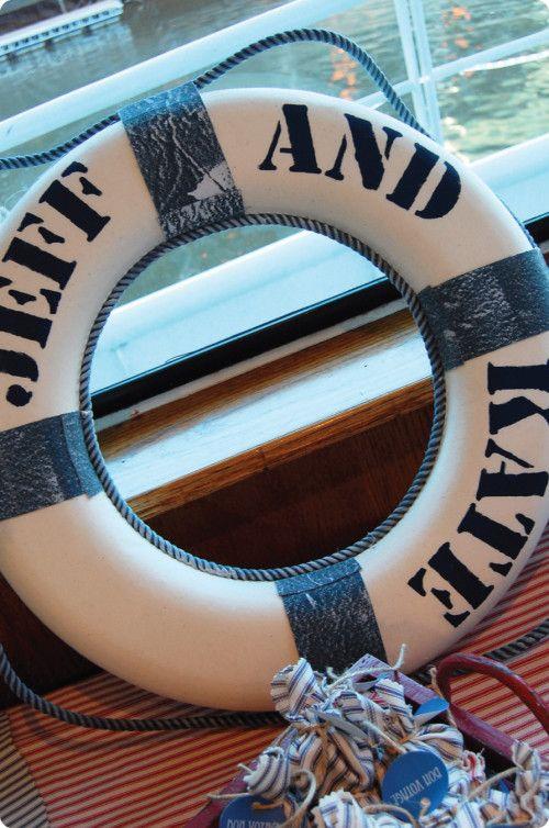 nautical themed rehearsal dinner   Come Sail Away: Nautical Rehearsal Dinner