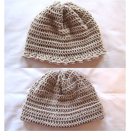 Knitting Patterns For Beginners Ravelry : Ravelry: His & Hers Crochet Hat For Beginners pattern by Sandy Marie Kn...
