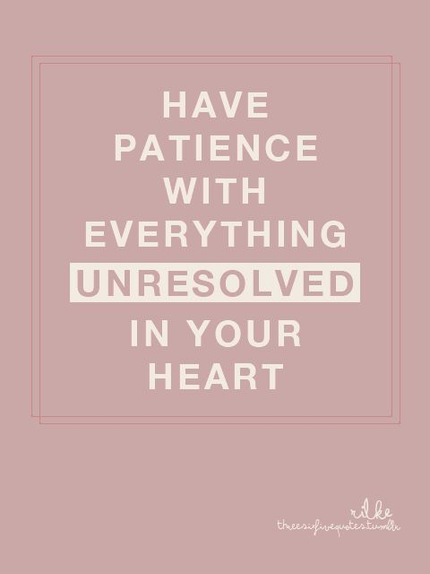 Patience should not be confused with procrastination! Both wait, but only one procures a product that lasts, the other procures a hastily built product!