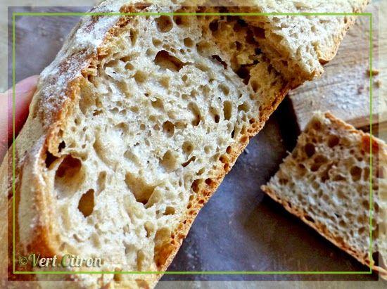 L'unique et formidable pain sans pétrissage de Jim Lahey : Vert-Citron