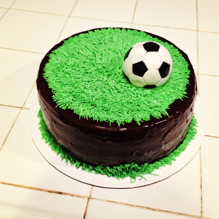 Soccer Cake: 17 Best Ideas About Soccer Ball Cake On Pinterest