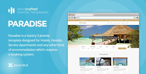 cool IT Paradise - Gantry 5, Hotel & Booking Joomla Template http://templates.jrstudioweb.com/