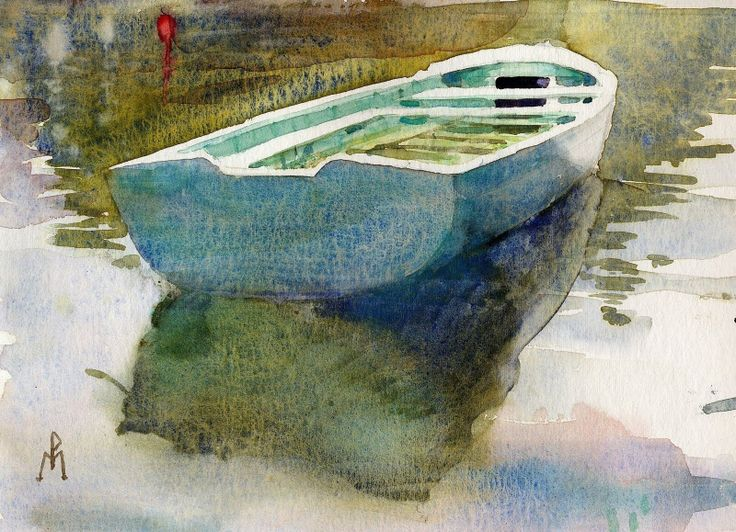 Watercolor by Marc Folly
