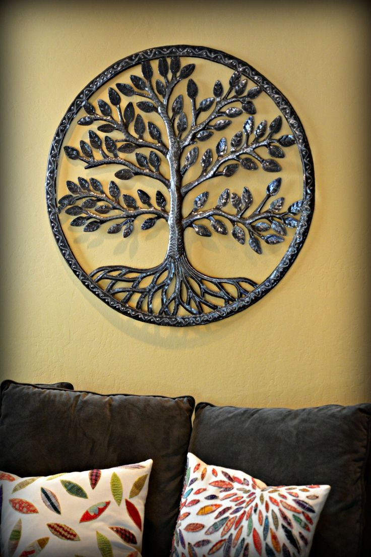 Our Rooted Haitian Metal Tree of Life is a gorgeous example of artwork with an…