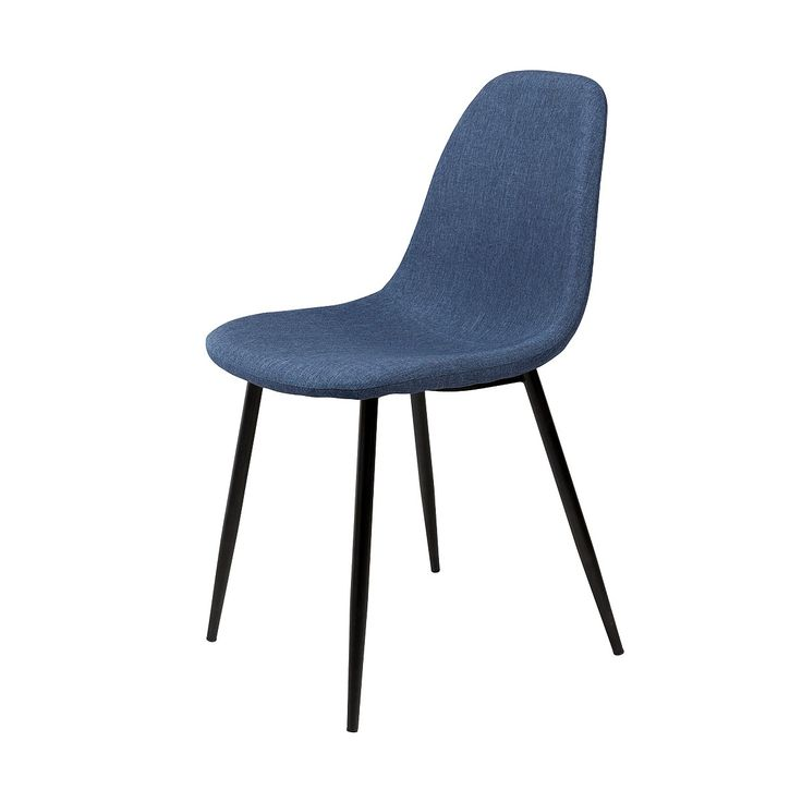 Dining chairs, jessie dining chair - dark blue