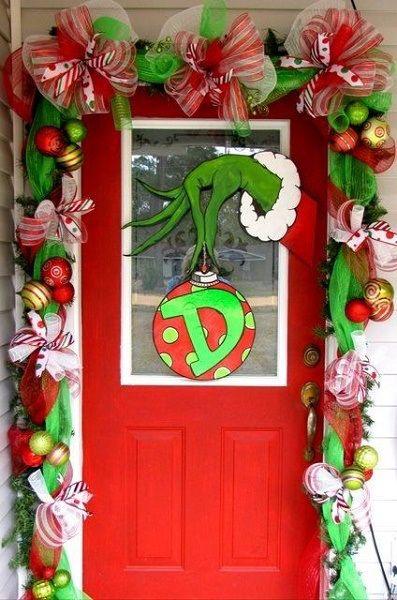 ... Door Decoration Ideas - Best Christmas Door Decoration Ideas 2015