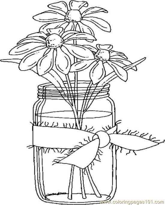 Daisies_in_a_Jar_jsnoj.jpg (550×683)