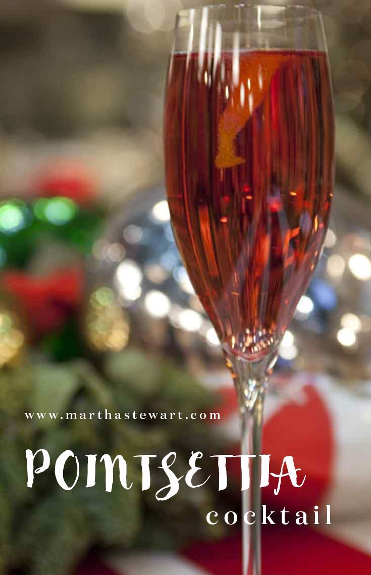 """Champagne and cranberry juice give this delicious cocktail from chef Emeril Lagasse's """"Emeril's Creole Christmas"""" its fun and festive appearance."""