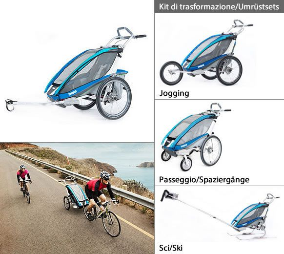 Carrozzina multifunzionale Thule Chariot CX 1 http://www.altoadige-shopping.it/info.php?cat=23&scat=270&prd=3486&id=10267