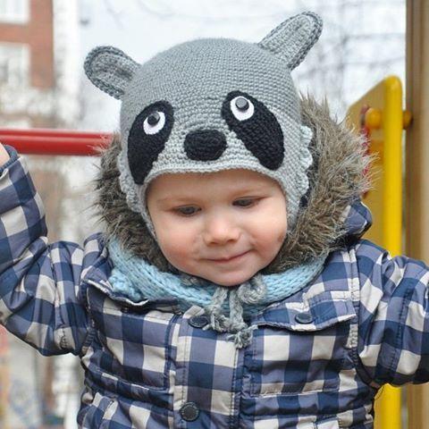 64 отметок «Нравится», 2 комментариев — @aljushinka в Instagram: «Крошка-енот 😊 #вяжутнетолькобабушки  #knittingforkids #шапка #вязаниедетям #шапкадлямальчика #весна…»