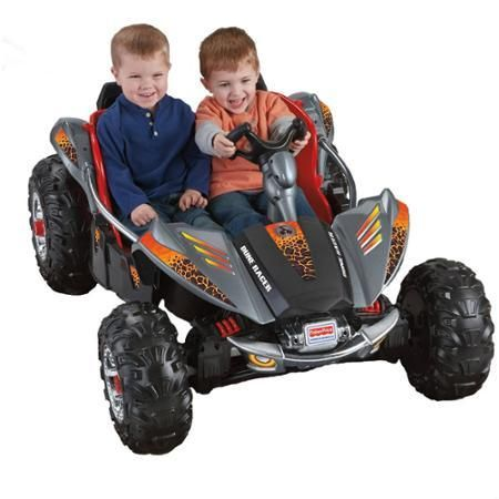 Toys Kids Bike Fisher-Price Power Wheels Dune Racer Lava Red & Black - Ride On Toys & Accessories