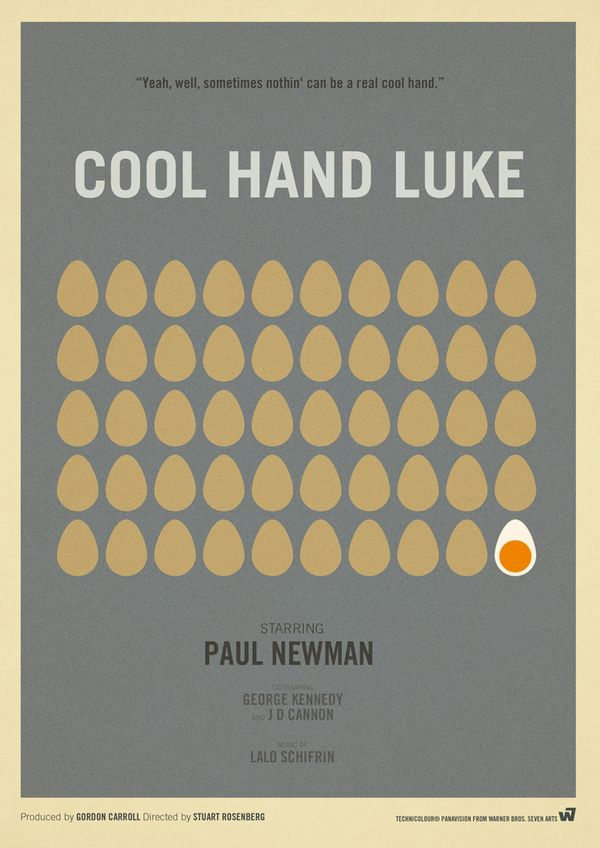 Cool Hand Luke - movie poster - Marcus Reed