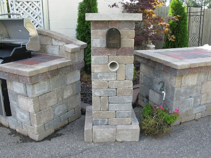 Brick Mailbox | Full Landscapes | Retaining Walls | Brick ...