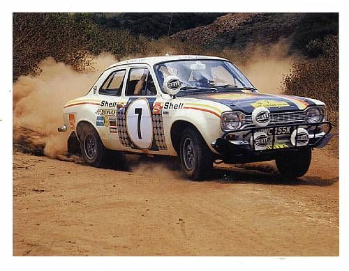 Ford Escort RS1600 Rally – I would love to own a nice Escort.