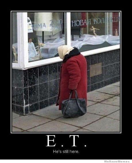 E.T. vive en el país.