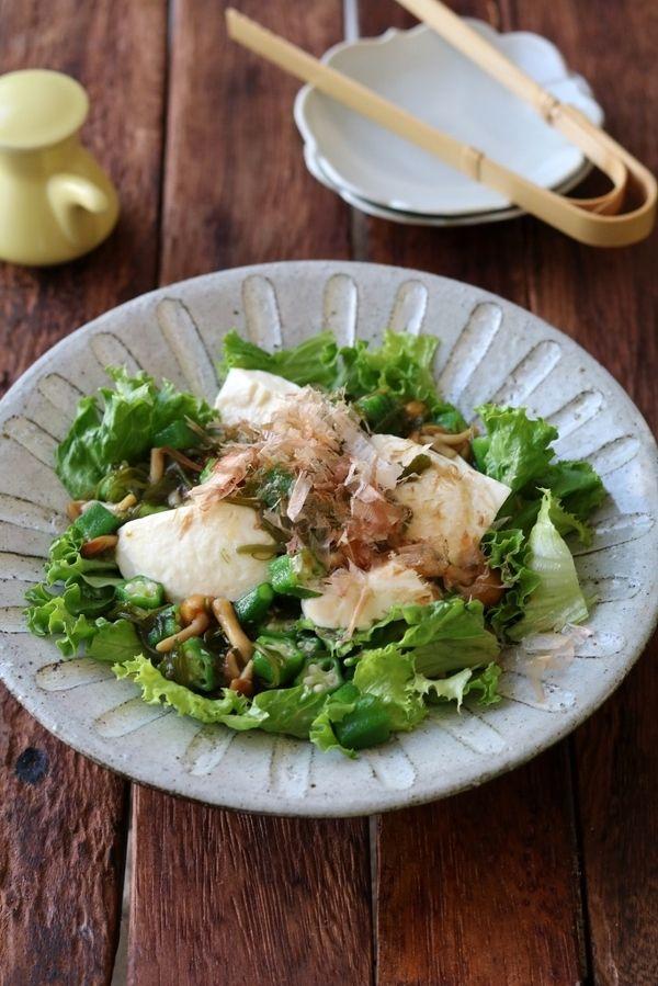 栄養満点!さっくり&プチプチの食感が楽しい「オクラ」を使ったレシピ | レシピサイト「Nadia | ナディア」プロの料理を無料で検索