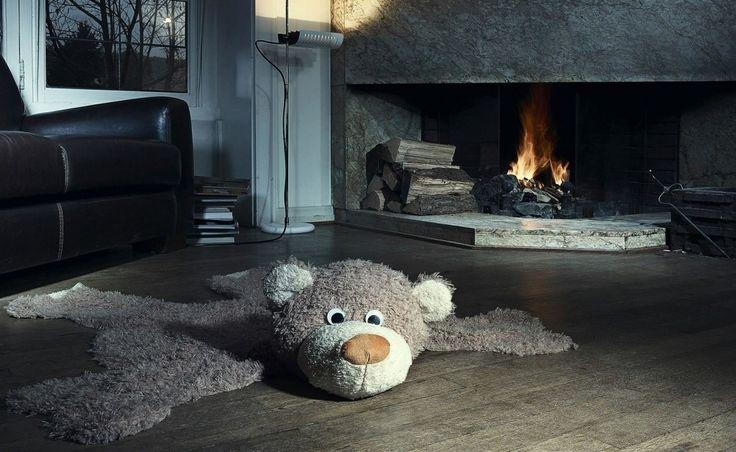 Wallpaper de alfombra de oso ecológica