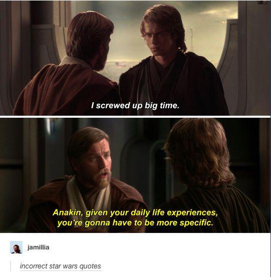 Star Wars #Anakin #ObiWanKenobi
