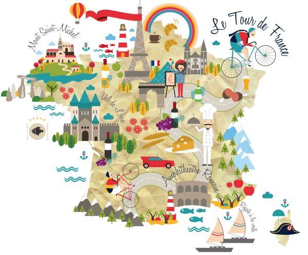 France Map - Chiara Alduini