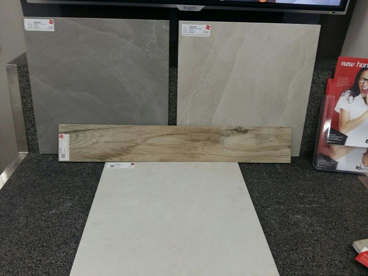 Outdoor tile option with indoor timber.