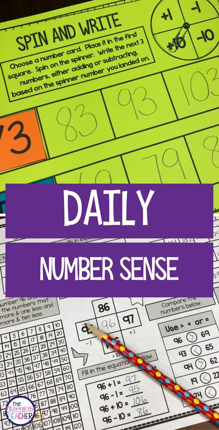 Daily Math Ccss Aligned Place Value Number Sense Worksheets Centers