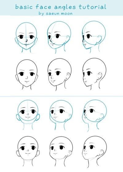 Голова манга