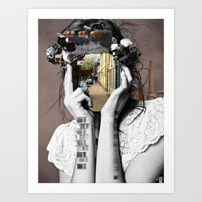 Crazy Woman - Lara Lisa Bella Art Print by Marko Köppe - $19.99