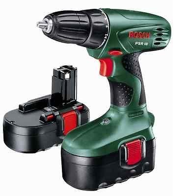 Bosch-PSR-18-Cordless-18-Volt-Drill-Driver-2x-NiCD-Batteries-NO-P-P-RRP-109-99