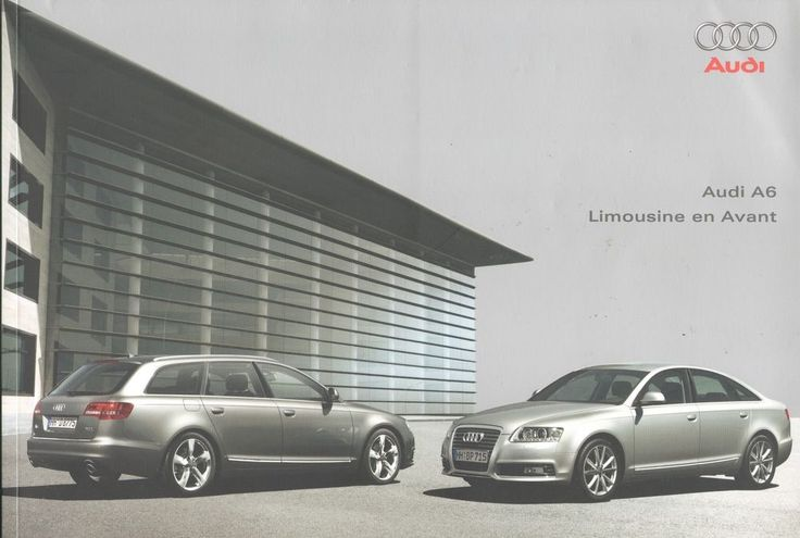 AUDI - A6 Limousine/Avant full brochure/folder Dutch 2008