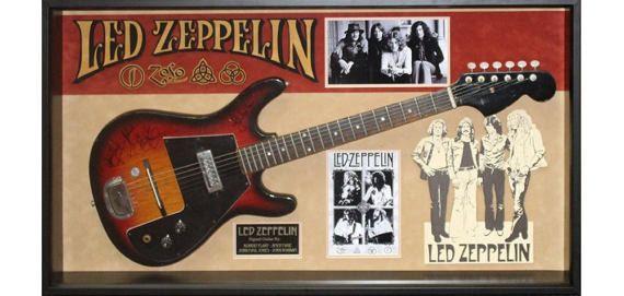 Led Zeppelin Signed Guitar by the Original 4 Members in Framed Case - COA  #WwwDirectbuy84Com #cheaponlinestore #bestbuy #onlinestore #sale #followme #cheaponlineshopping