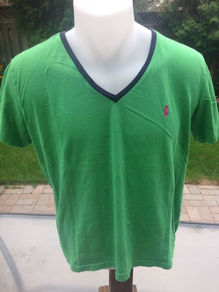 New to MajorDivision on Etsy: Vintage Women's Green Ralph Lauren Sport T-Shirt (15.00 CAD)
