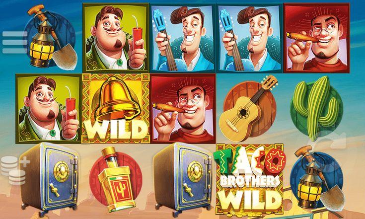 Taco Brothers - http://jocuri-pacanele.com/joaca-gratis-pacanele-taco-brothers-online/