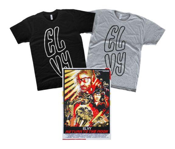 El Vy poster + t-shirt
