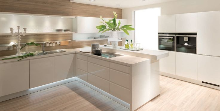 Nolte kitchens are designed with quality kitchen for German kitchen appliances manufacturers