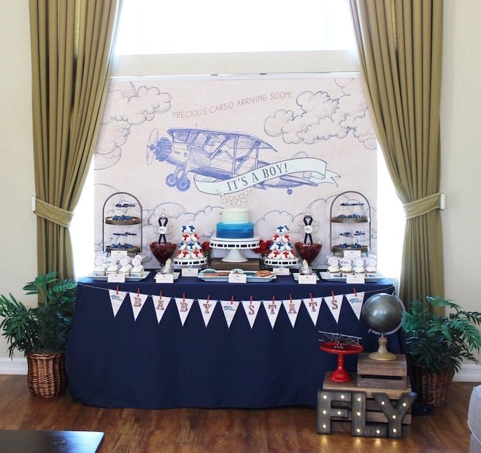 Vintage Airplane Birthday Party Airplane Baby Shower: Best 25+ Vintage Baby Showers Ideas On Pinterest