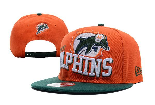 NFL Miami Dolphins Snapback Hats Orange 4537|only US$8.90